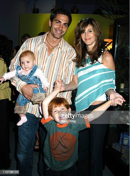 Michael Bergin Joy Tilk with their daughter Alana and son Jesse