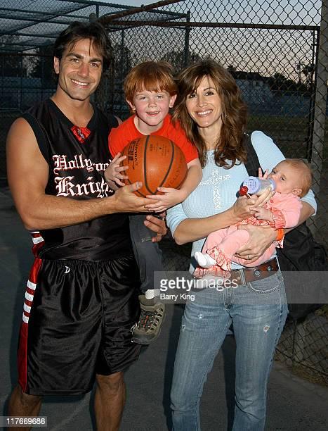 Michael Bergin son Jesse Joy Tilk and daughter Alana