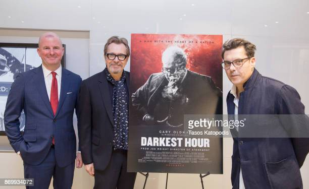 Michael Bishop Director The National Churchill Library and Center Actor Gary Oldman and Director Joe Wright at Churchill Library Meet and Greet...
