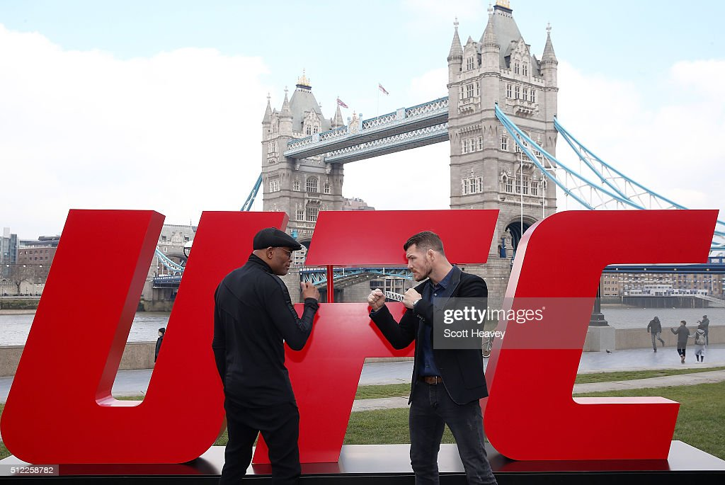 UFC Fight Night Ultimate Media Day : News Photo
