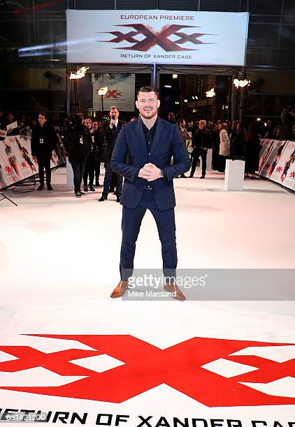 Michael Bisping attends the European Premiere of Paramount Pictures' 'xXx Return of Xander Cage' on January 10 2017 in London United Kingdom