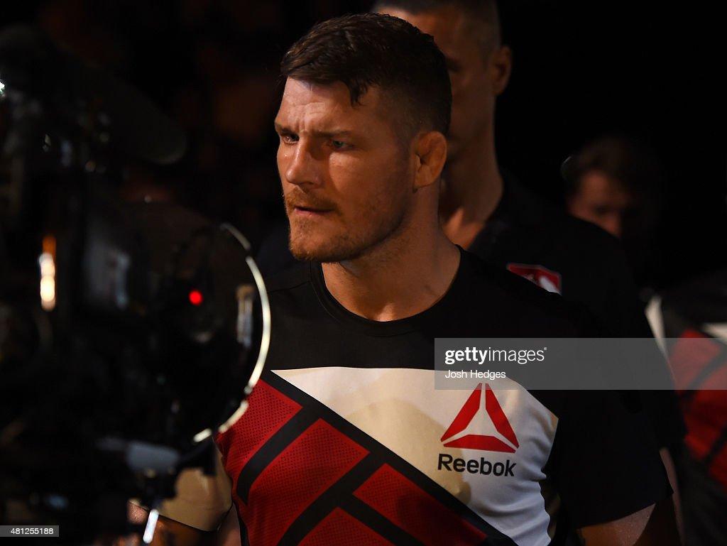 UFC Fight Night: Bisping v Leites : News Photo