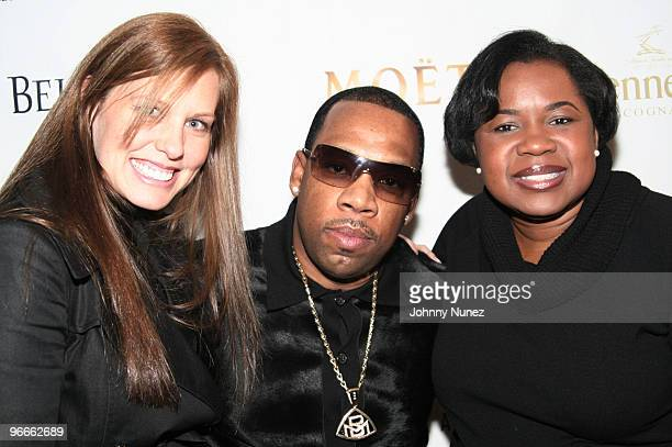 Michael Bivins and guests attend the Kenny Smith 8th Annual AllStar Bash on February 12 2010 in Dallas Texas