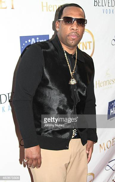 Michael Bivins attends the Kenny Smith 8th Annual AllStar Bash on February 12 2010 in Dallas Texas
