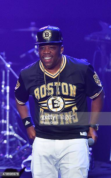 Michael Bivins of Bell Biv Devoe performs onstage at the Bell Biv Devoe with Doug E Fresh concert during the 2015 BET Experience at Club NokiaLA Live...