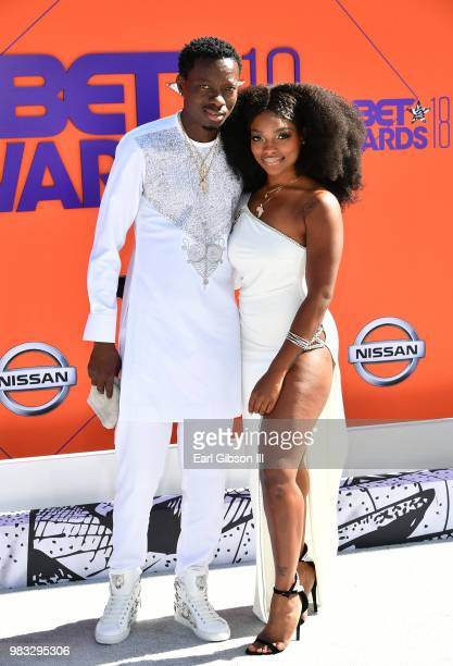 Michael Blackson attends the 2018 BET Awards at Microsoft Theater on June 24 2018 in Los Angeles California