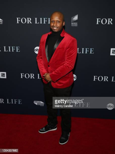 Michael Blake attends ABC's For Life New York premiere at Alice Tully Hall Lincoln Center on February 05 2020 in New York City
