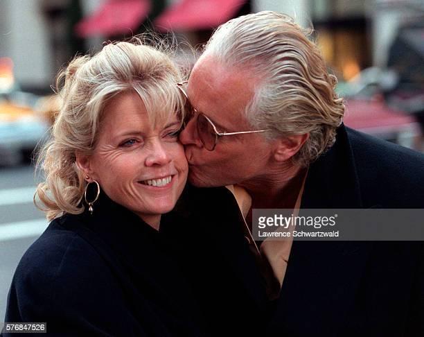 Michael Blodgett Kissing Wife Meredith Baxter
