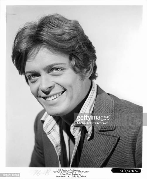 Michael Blodgett smiling in a scene from the film 'Beyond The Valley Of The Dolls' 1970