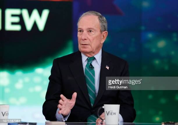 THE VIEW Michael Bloomberg and Aaron Sorkin are the guests today Monday 12/10/18 on Walt Disney Television via Getty Images's The View The View airs...