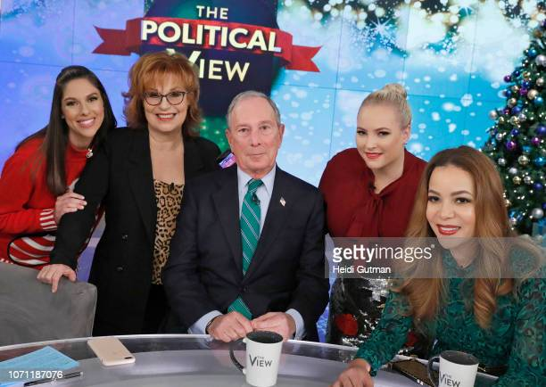 THE VIEW Michael Bloomberg and Aaron Sorkin are the guests today Monday 12/10/18 on ABC's 'The View' 'The View' airs MondayFriday on the ABC...