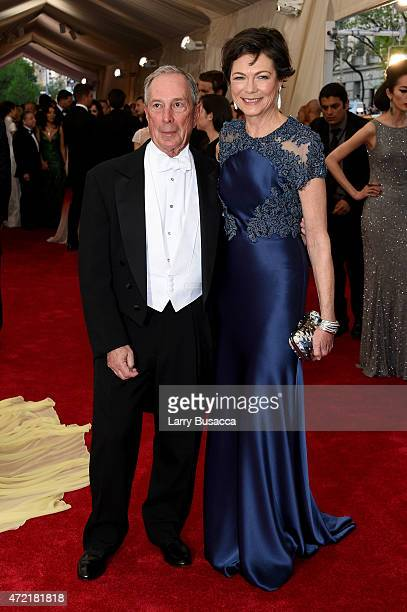 Michael Bloomberg and Diana Taylor attend the 'China Through The Looking Glass' Costume Institute Benefit Gala at the Metropolitan Museum of Art on...