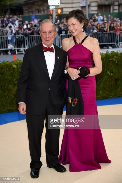 Michael Bloomberg and Diana Taylor attend the 'Rei Kawakubo/Comme des Garcons Art Of The InBetween' Costume Institute Gala at Metropolitan Museum of...