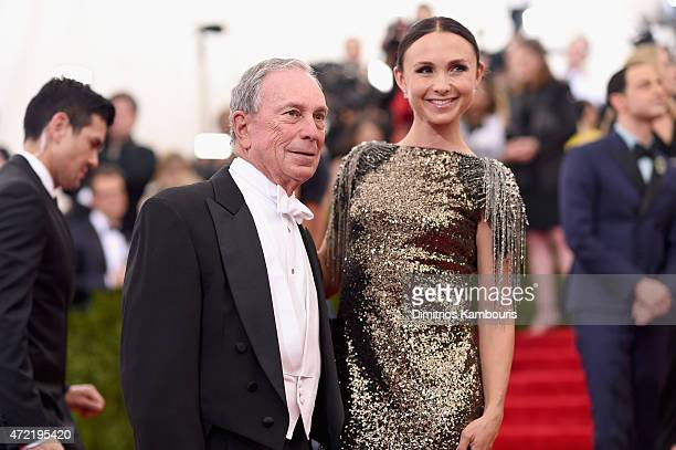 Michael Bloomberg and Georgina Bloomberg attend the China Through The Looking Glass Costume Institute Benefit Gala at the Metropolitan Museum of Art...
