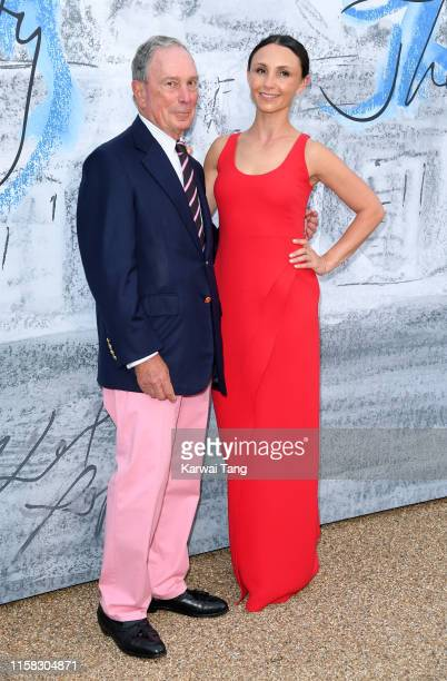 Michael Bloomberg and Georgina Bloomberg attend The Summer Party 2019 Presented By Serpentine Galleries And Chanel at The Serpentine Gallery on June...