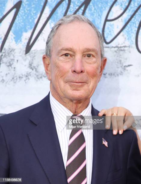 Michael Bloomberg attends The Summer Party 2019 Presented By Serpentine Galleries And Chanel at The Serpentine Gallery on June 25 2019 in London...