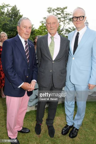 Michael Bloomberg Lord Norman Foster and HansUlrich Obrist attend The Summer Party 2019 presented by Serpentine Galleries Chanel and hosted by...