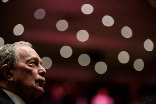 NY: Michael Bloomberg Speaks At Predominantly Black Church In Brooklyn, New York