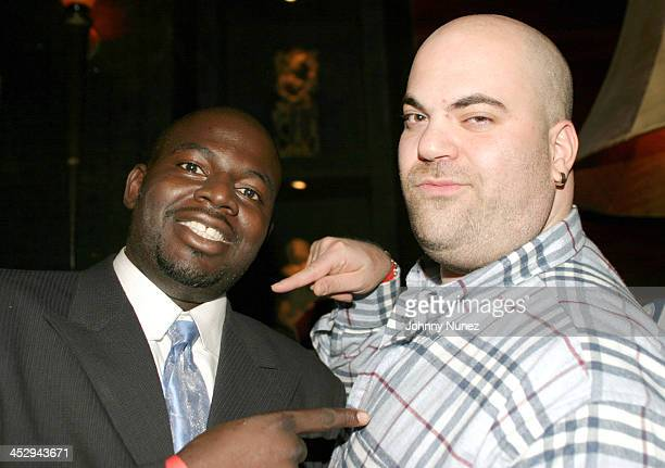 Michael Blue Williams of Family Tree and Paul Rosenberg of Shady Records