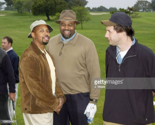 Michael Boatman Chi McBride and Billy Baldwin during 3rd Annual Project ALS Spring Benefit Celebrity Golf Tournament at The Lodge at Torrey Pines in...