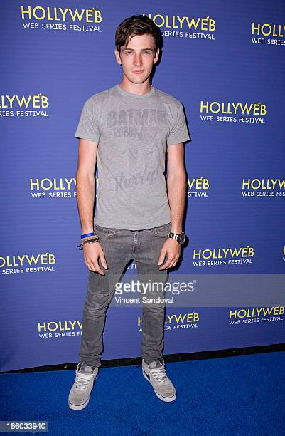 Michael Bolten attends the 2nd annual HollyWeb Festival at Avalon on April 7 2013 in Hollywood California