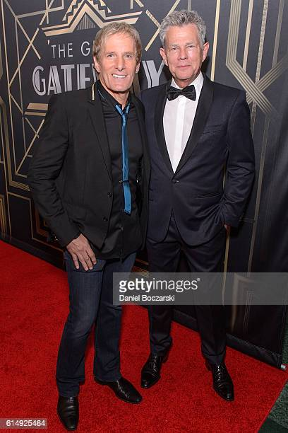 Michael Bolton and David Foster attend the 2016 Gateway For Cancer Research Cures Gala at Navy Pier Aon Grand Ballroom on October 15 2016 in Chicago...