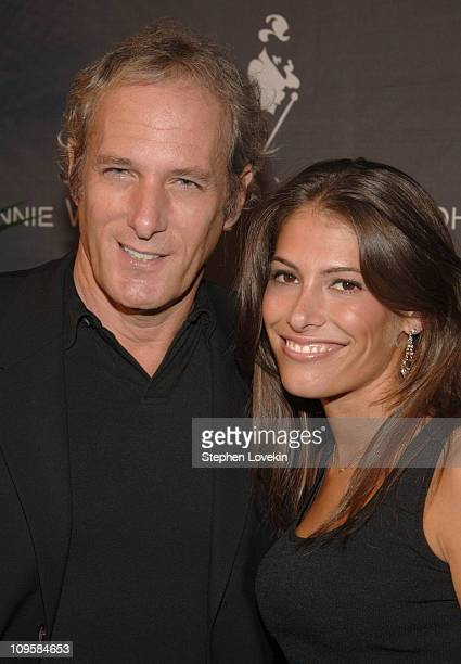 Michael Bolton and Lauren Lee during Johnnie Walker Toasts The 200th Birthday of Founder John Walker At An Exclusive Celebration at Skylight Studios...