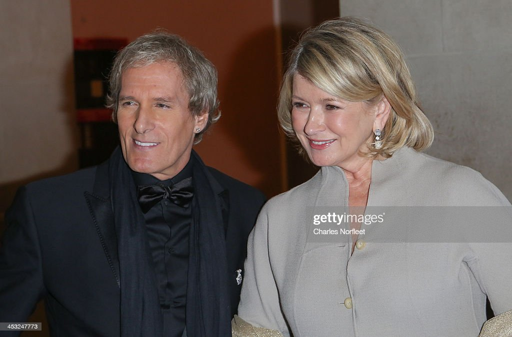 Michael Bolton and Martha Stewart attend the 2013 Winter Ball For Autism at the Metropolitan Museum of Art on December 2, 2013 in New York City.