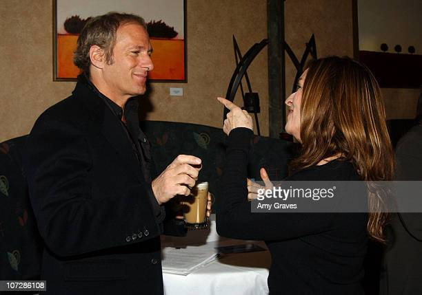 Michael Bolton and Maryann De Leo director during 2005 Park City Lifetime Television Women and Men Speak Out to Stop Violence with Michael Bolton at...