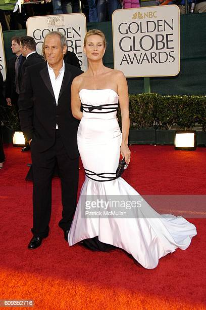 Michael Bolton and Nicollette Sheridan attend 64th Annual Golden Globes Awards Arrivals at Beverly Hilton Hotel on January 15 2007 in Beverly Hills CA