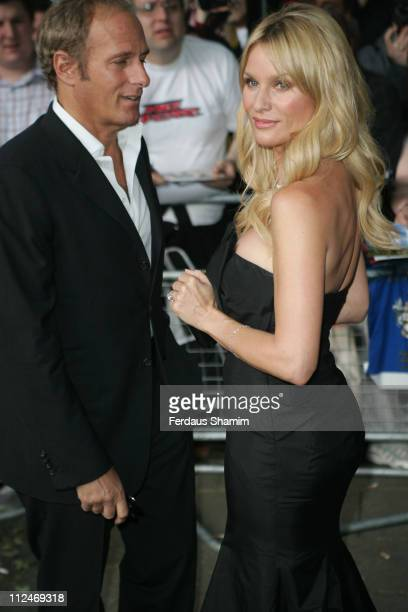 Michael Bolton and Nicollette Sheridan during Glamour Women of the Year Awards 2006 Outside Arrivals at Berkley Square in London Great Britain