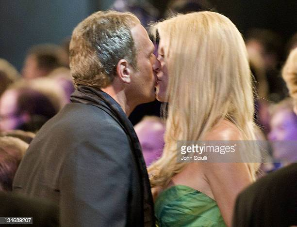 Michael Bolton and Nicollette Sheridan during TNT Broadcasts 12th Annual Screen Actors Guild Awards Backstage and Audience at Shrine Expo Hall in Los...