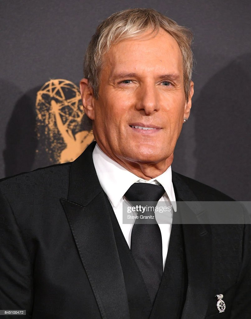 Michael Bolton arrives at the 2017 Creative Arts Emmy Awards - Day 1 at Microsoft Theater on September 9, 2017 in Los Angeles, California.