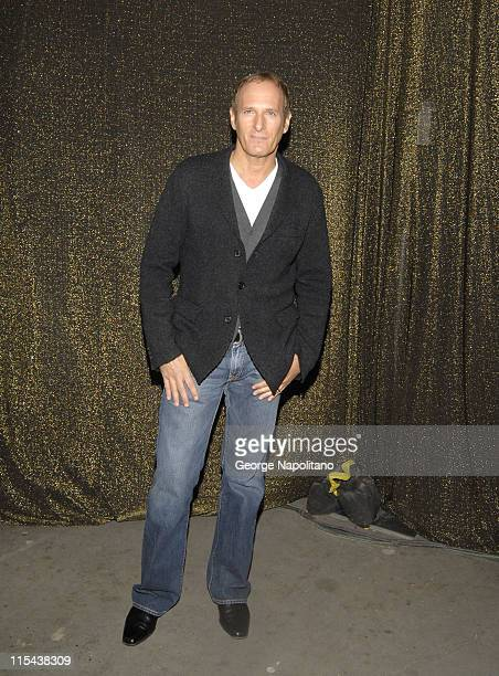 Michael Bolton at the Clash of the Choirs rehearsal show at Steiner Studios on December 16, 2007 in Brooklyn, New York.