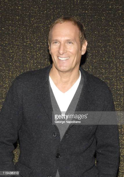 Michael Bolton at the Clash of the Choirs rehearsal show at Steiner Studios on December 16 2007 in Brooklyn New York