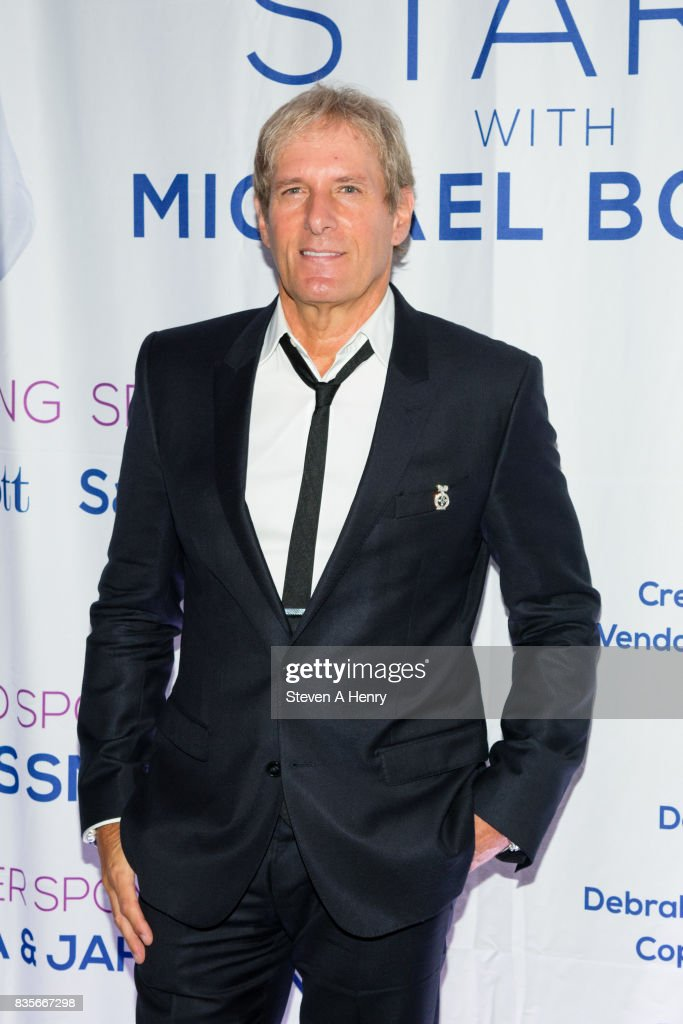 Michael Bolton attends An Intimate Evening Under The Stars With Michael Bolton at Private Residence on August 19, 2017 in Bridgehampton, New York.