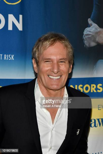 Fay Ann Lee and Susan Shin attend 'An Intimate Evening Under The Stars With Michael Bolton' on August 18 2018 in Water Mill New York