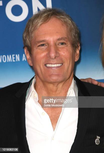 Michael Bolton attends an Intimate Evening Under the Stars with Michael Bolton on August 18 2018 in Water Mill New York