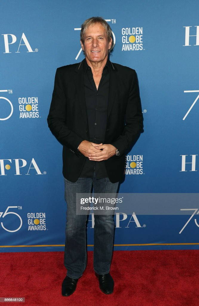Michael Bolton attends Hollywood Foreign Press Association Hosts Television Game Changers Panel Discussion at The Paley Center for Media on October 26, 2017 in Beverly Hills, California.