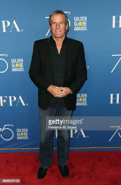 Michael Bolton attends Hollywood Foreign Press Association Hosts Television Game Changers Panel Discussion at The Paley Center for Media on October...