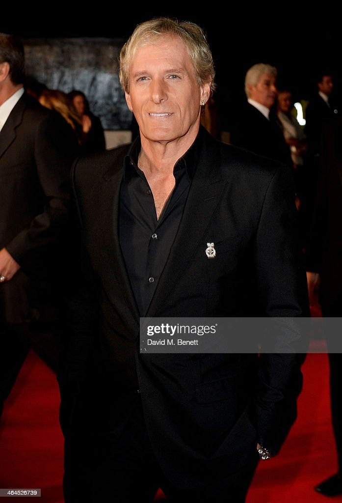 Michael Bolton attends the National Television Awards at the 02 Arena on January 22, 2014 in London, England.