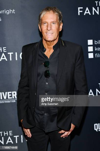 Michael Bolton attends the premiere of Quiver Distribution's The Fanatic at the Egyptian Theatre on August 22 2019 in Hollywood California