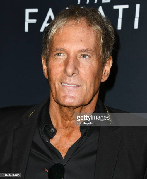 """Michael Bolton attends the Premiere Of Quiver Distribution's """"The Fanatic"""" at the Egyptian Theatre on August 22, 2019 in Hollywood, California."""