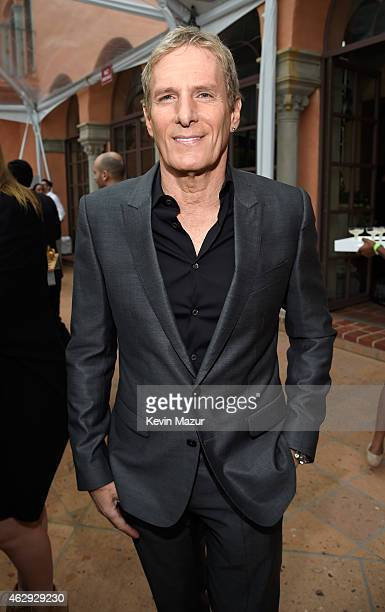Michael Bolton attends the Roc Nation and Three Six Zero PreGRAMMY Brunch at Private Residence on February 7 2015 in Beverly Hills California