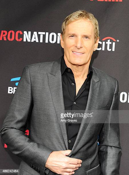 Michael Bolton attends the Roc Nation Grammy Brunch 2015 on February 7 2015 in Beverly Hills California