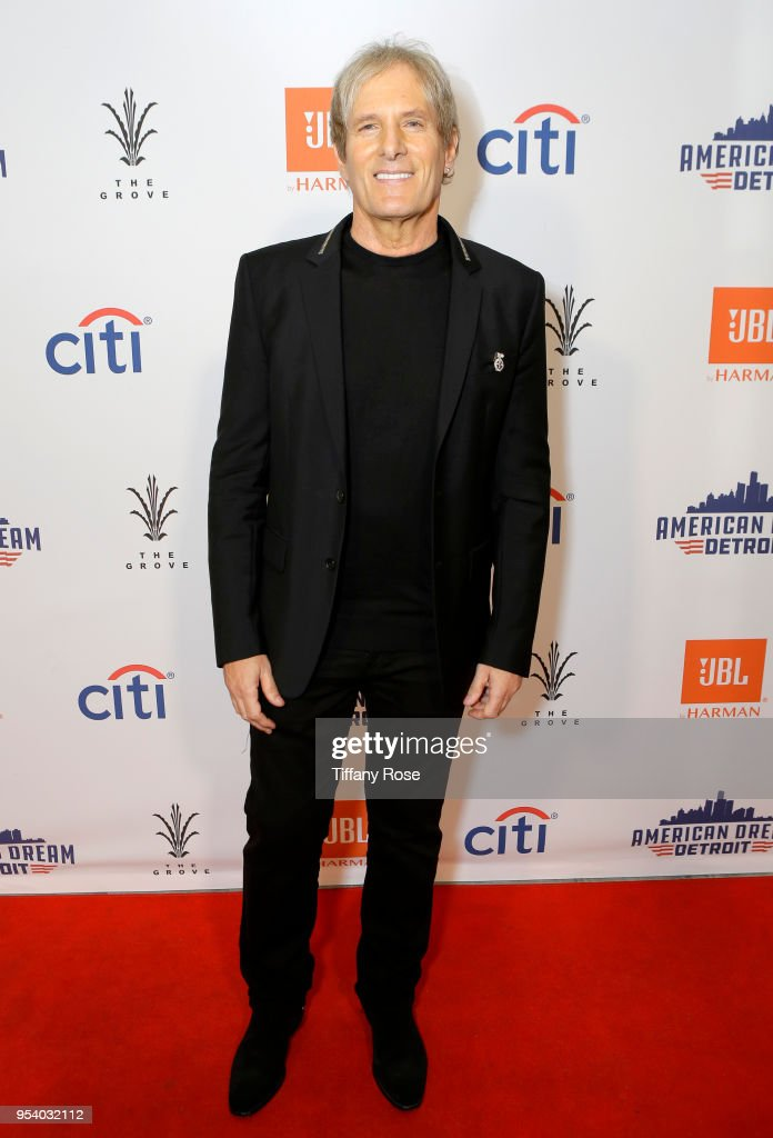 Michael Bolton attends the world premiere of American Dream: Detroit at The Grove on May 2, 2018 in Los Angeles, California.