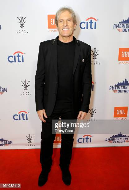 Michael Bolton attends the world premiere of American Dream Detroit at The Grove on May 2 2018 in Los Angeles California