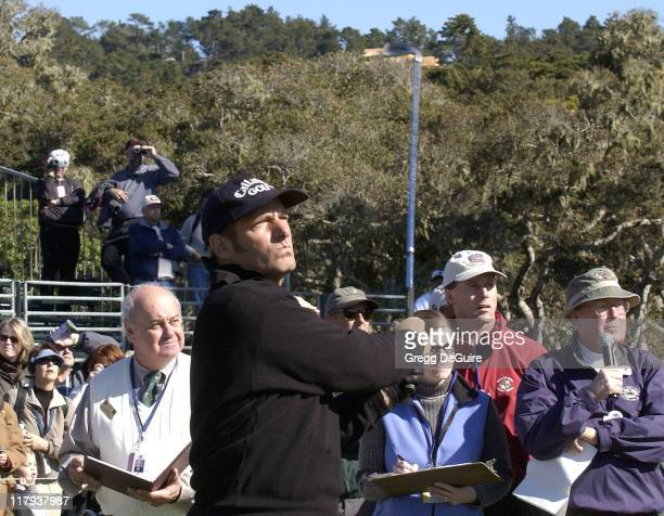 Michael Bolton during 3M Celebrity Challenge at the ATT Pebble Beach National ProAm at Pebble Beach Golf Links in Carmel California United States