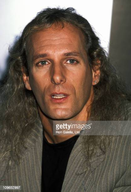 Michael Bolton during Michael Bolton In Store Album Signing at HMV Music Store in New York City September 19 1995 at HMV Music Store in New York City...