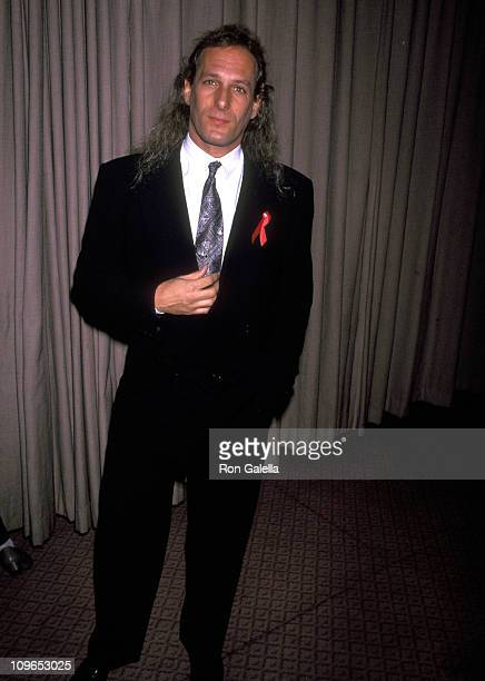 Michael Bolton during 'Share the Dream' TJ Martell Foundation Benefit April 25 1992 at West Village in New York City New York United States